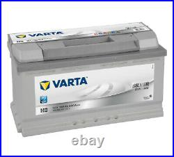 019 Varta 600402083 H3 Silver Dynamic Car Battery 12V 100Ah 830CCA