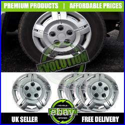 15 To Fit Fiat Ducato Wheel Trims Deep Dish Hub Cap Domed Commercial