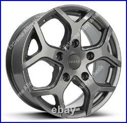 16 Grey Alloy Wheels Commercial Motorhome Van Rated Fit Nissan Primastar 5x118