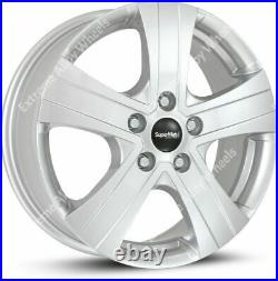 16 Sm Commercial Motorhome Van Rated Alloy Wheels Fits Fiat Ducato Maxi 5x130