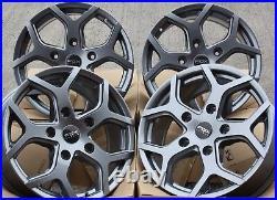 18 G Viper 4 Alloy Wheels Fits Vauxhall Vivaro Renault Trafic Nissan Primastar