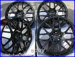 19 Black Dtm Alloy Wheels Fits Vauxhall Vivaro Nissan Primastar Renault Trafic