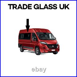 2 x Fiat Ducato Dark Tinted FIXED Side Windows WITH FIT KIT AND U TRIM 06 2021