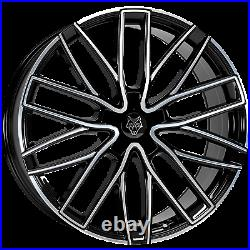 20 Wolfrace-gtp Alloy Wheels Fits Vivaro Ducato Trafic Relay 1050kg Load Rated