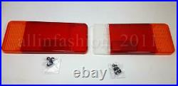 2x Lens For Rear Tail Lights Lamp Lenses Fits IVECO Eurocargo FIAT Ducato Trucks