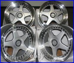 Alloy Wheels X 4 17 Sil Dr-f5 Fit 5x118 Vauxhall Vivaro Renault Trafic Traffic