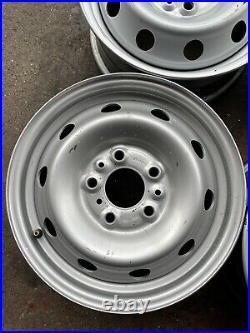 Citroen Relay Fiat Ducato Peugeot Boxer Steel Wheel 15 Inch Fits All 15