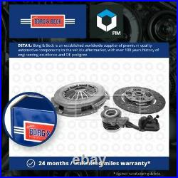 Clutch Kit 3pc (Cover+Plate+CSC) fits FIAT DUCATO 2.3D 2006 on B&B Quality New
