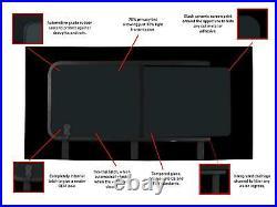 Dark Tint RH Opening Window Fitting Kit for Fiat Ducato (2006 on) L2, L3, L4