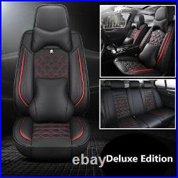 Deluxe Edition PU 6D Full Surround Seat Covers Fit For Car Interior Accessories