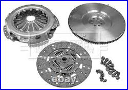 Dual To Solid Flywheel Clutch Kit Fits Fiat Ducato 3.0td Hkf1054