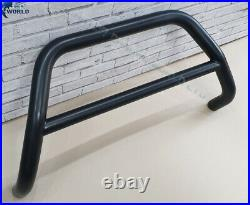 FITS TO FIAT DUCATO BULL BAR BLACK NUDGE PUSH A-BAR 60mm 1997-2006 NO AXLE OFFER