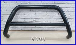 FITS TO FIAT DUCATO BULL BAR BLACK NUDGE PUSH A-BAR 60mm 2007-2014 NO AXLE OFFER