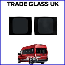 Fiat Ducato Barn Door Windows With FITTING KIT And U Trim 2006 2021 Models #ST