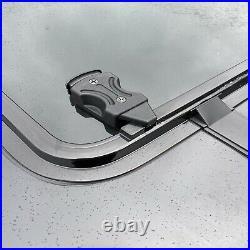 Fiat Ducato Dark Tinted Sliding Side Windows WITH FIT KIT + U TRIM 2006 2021