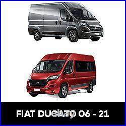 Fiat Ducato Driver SLIDING Window, Pass FIXED WITH FIT KIT + U TRIM 2006 2021