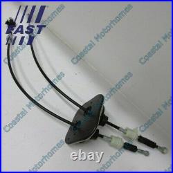 Fits Citroen Relay Fiat Ducato Peugeot Boxer LHD Gear Change Cables Linkage