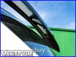 Fits Fiat Ducato 07 Black Acrylic Dark Solid Sunvisor Sun Visor Wind Deflector