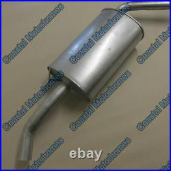 Fits Fiat Ducato Boxer Relay Rear Exhaust Silencer Pipe LHD 2.0L-2.3L-2.8L