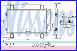 Fits Fiat Ducato Peugeot Boxer Citroen Relay Air Con Condenser+Filter 1347842080