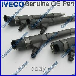 Fits Fiat Ducato Peugeot Boxer Citroen Relay Iveco Daily 4x Fuel Injectors 2.3