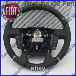 Fits Fiat Ducato Peugeot Boxer Citroen Relay Leather Steering Wheel+Controls 14