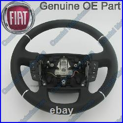 Fits Fiat Ducato Peugeot Boxer Citroen Relay Leather Steering Wheel Controls OE