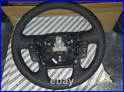 Fits Fiat Ducato Peugeot Boxer Citroen Relay Leather Steering Wheel Controls OE