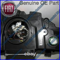 Fits Fiat Ducato Peugeot Boxer Citroen Relay Left Headlight Silver With DRL OE