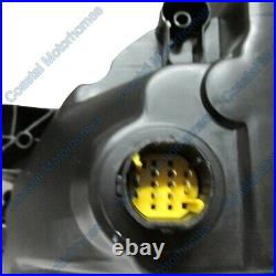 Fits Fiat Ducato Peugeot Boxer Citroen Relay Right Headlight Black With DRL 14on