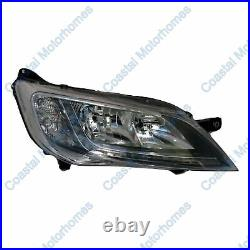 Fits Fiat Ducato Peugeot Boxer Citroen Relay Right Headlight Silver With DRL 14