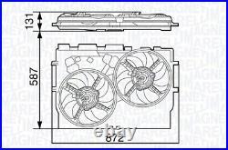 Fits Fiat Ducato Peugeot Boxer Citroen Relay Twin Radiator Fans 2.0 2.2 2.3 3.0