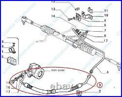 Fits Fiat Ducato Power Steering Pipe 2.5 D+TD 1981-1994 OE