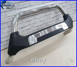 Fits To Fiat Ducato Bull Bar Chrome Poly Nudge Push Grill A-bar 2007-2014 Offer
