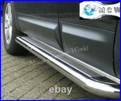 Fits To Fiat Ducato Side Bars Steps Running Boards Chrome 2007+onwards Ss Lwb