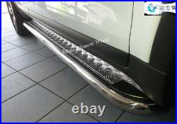 Fits To Fiat Ducato Side Bars Steps Running Boards Chrome S. Steel 2007+ Lwb New