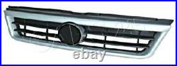 Front Central Grille fits FIAT DUCATO Facelift 2002-2006 silver