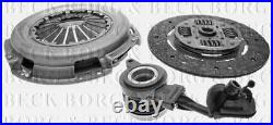 HKT1220 BORG & BECK CLUTCH 3in1 CSC KIT fits Fiat Ducato 2.3TD 06- NEW O. E SPEC