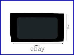 LH RH Dark Tint Fixed Windows Glass Fitting Kit for Fiat Ducato (2006 on) L1H1
