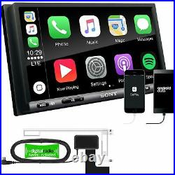 SONY DAB+ Apple Android + Full Screen Fitting kit Fiat Ducato 2014-21
