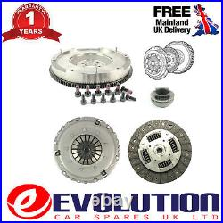 Solid Mass Flywheel Clutch Kit Bearing Bolts Fits Peugeot, Citroen 1.6, 826033