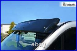 To Fit 2014+ Fiat Ducato Smoked Tinted Acrylic Sun Visor Shade Sunshield
