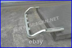 To Fit 2014+ Fiat Ducato Stainless Steel Medium High Drop Down Roof Light Bar