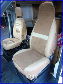 To Fit A Fiat Ducato 2008 Motorhome, Seat Covers, Penelope Mh-493