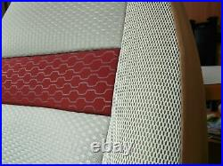 To Fit A Fiat Ducato Motorhome 2020 Model, Tall Pilot Seat Covers Olivia MH-1008