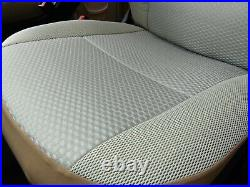 To Fit Fiat Ducato Motorhome, 2018 Model, Tall Pilot Seat Covers, Olivia Mh-1008