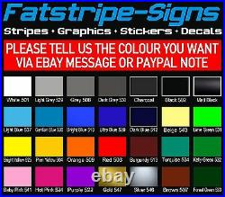 To fit FIAT DUCATO SWB L1 MOTORHOME GRAPHICS STICKERS DECALS STRIPES CAMPER VAN