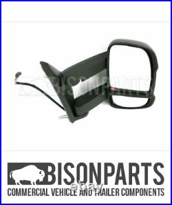 +fits Fiat Ducato Motorhome Long Arm Mirror Head Elec & Heated Driver Cit190